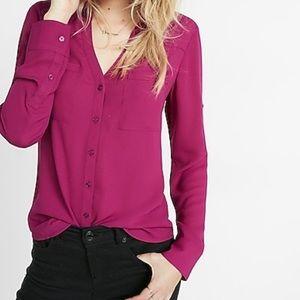 Slimming Button Down Shirt